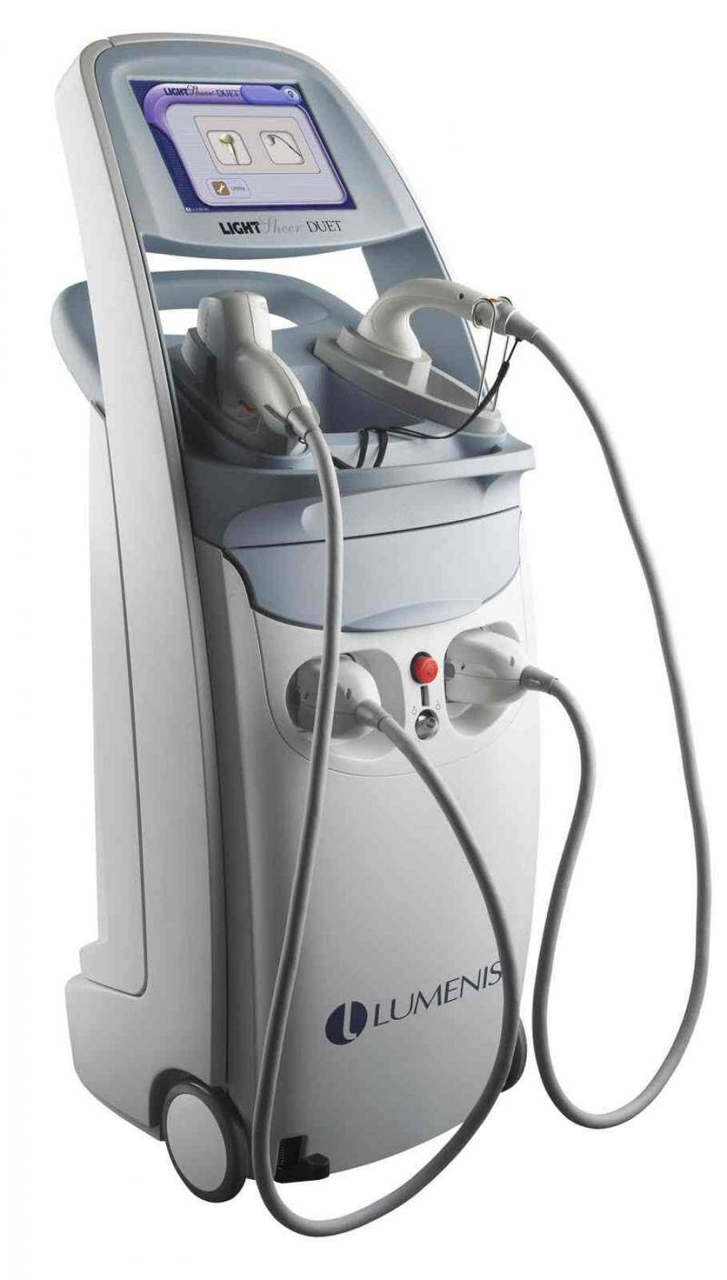 the lightsheer duet laser hair removal